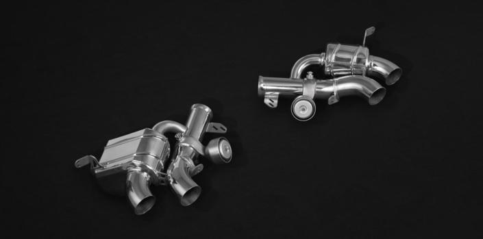remote valve flap exhaust portofino