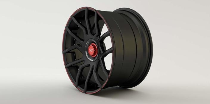 black custom wheels ferrari portofino