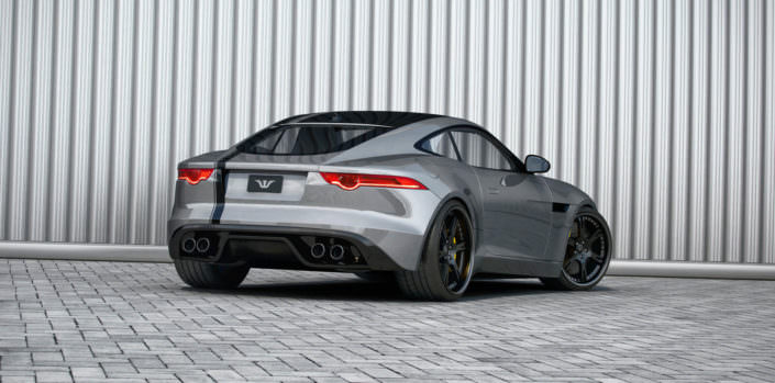 jaguar f-type with individual 21 inch 6sporz wheels forged