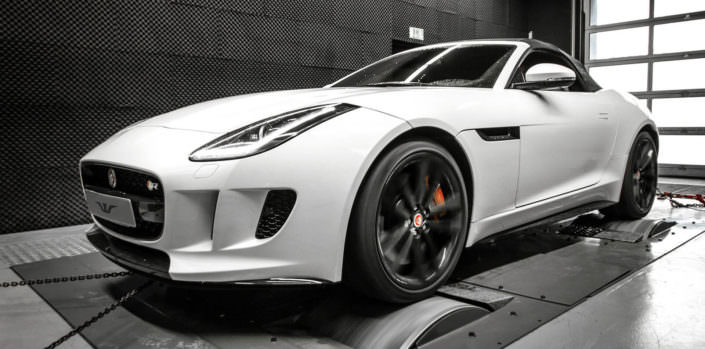 f-type r on dyno for powert test wheelsandmore