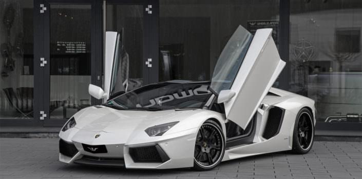 tuning wheelsandmore Lamborghini aventador roadster