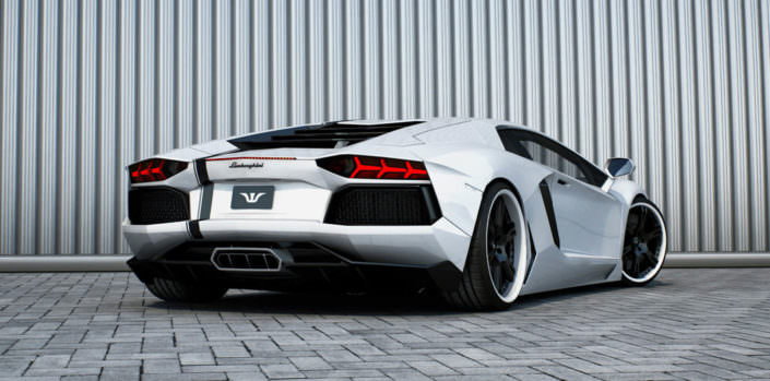 valve flap exhaust and cat replacement tubes for aventador