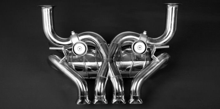 exhaust with valve flaps by wheelsandmore