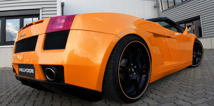 gallardo lp520 with 20 inch 6sporz wheels