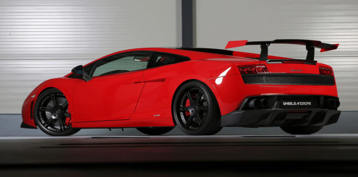 9,5+11,5x20 inch 6sporz² wheels on super trofeo lamborghini