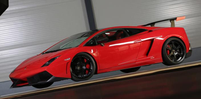 red super strofeo with blacj 6sporz² wheels
