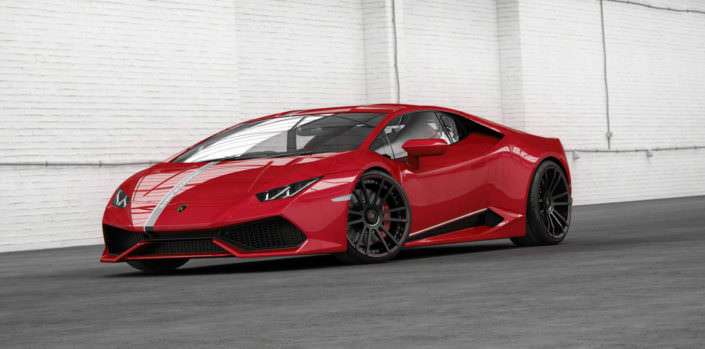power kit for huracan contending wheels and compressor kit with up to 850hp