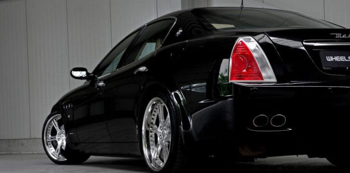 6sporz wheels on maserati quattroporte in 20 inches