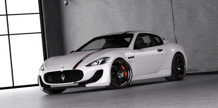 the demonoxious project mc stradale by wheelsanmore wit wheels, exhaust and compressor kit providing 666hp