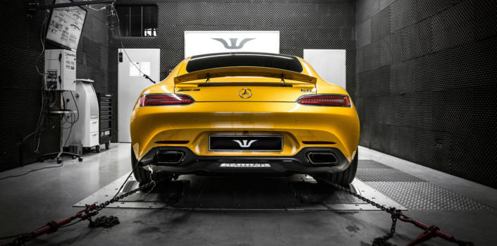 dyno test mercedes amg gt with 680hp