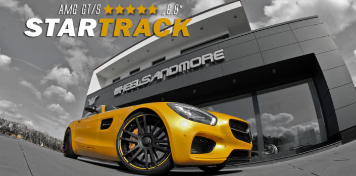 yeloow mercedes amg gt with 680hp form wheelsandmore