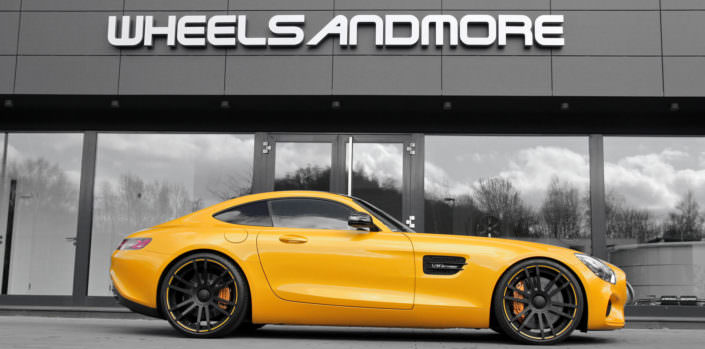 wheels fiwe on mercedes amg gts