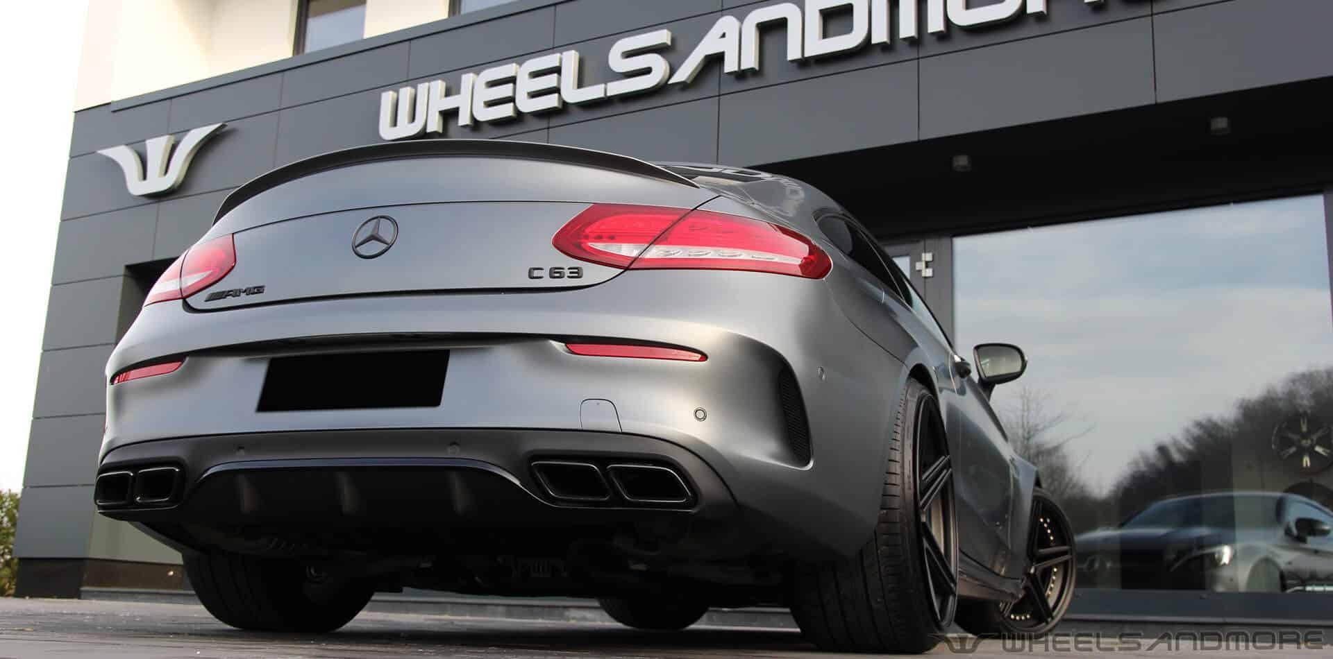 Mercedes C63 AMG Tuning | Wheelsandmore › Wheelsandmore Tuning