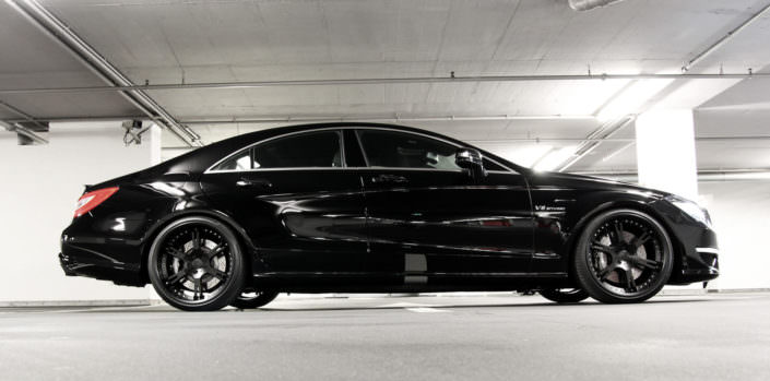 black cls63amg conversion by wheelsandmore with matte black 6sporz wheels 10x20 12x20