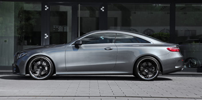 grey mercedes e400 with ultralight forged 6sporz wheels