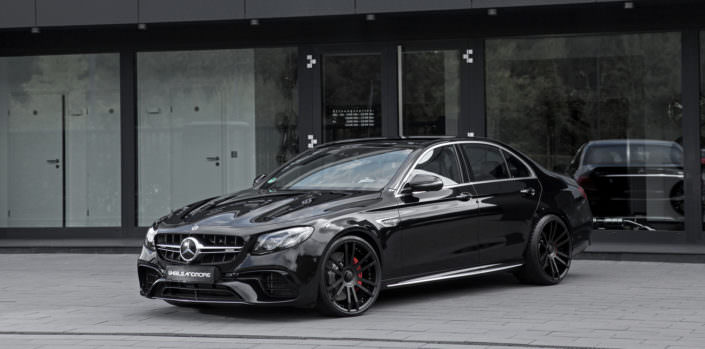 black mercedes e63 amg tuning 2018