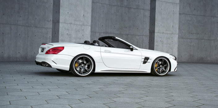 sl63 amg tuning with wheels and suspension module
