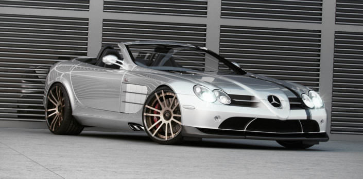 new wheel design for mercedes slr