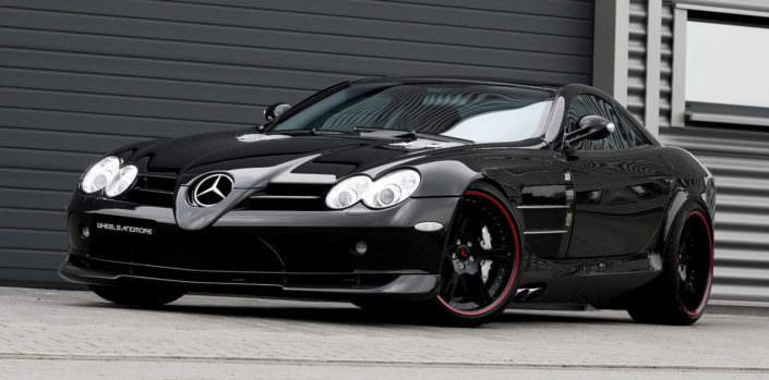 front view mc laren mercedes slr tuning by wheelsandmore