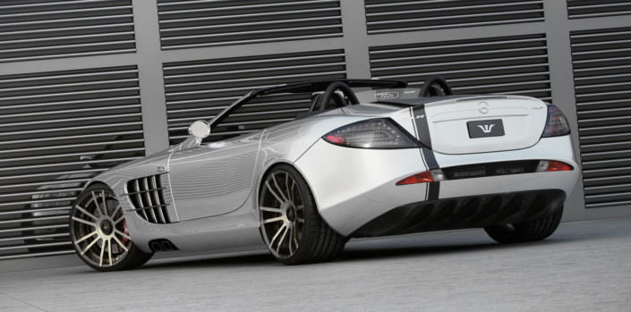 high end fiwe concave tuning wheels for mercedes mclaren slr 722
