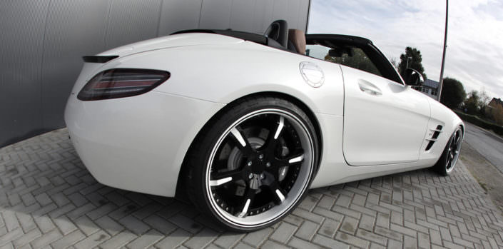 mercedes sls amg roadster tuning by wheelsandmore