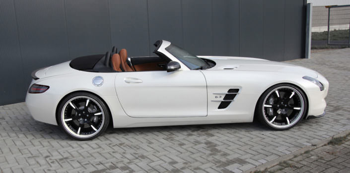 amg sls mercedes 21 inch wheels 6sporz black white with inlays