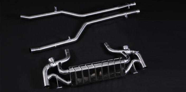 1.4828 stainless steel muffler mercedes sls amg