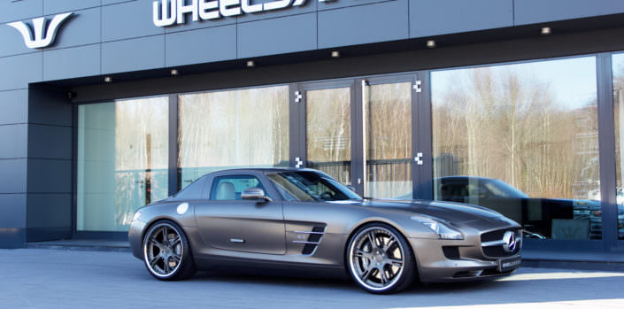 suspesnion amg sls tuning
