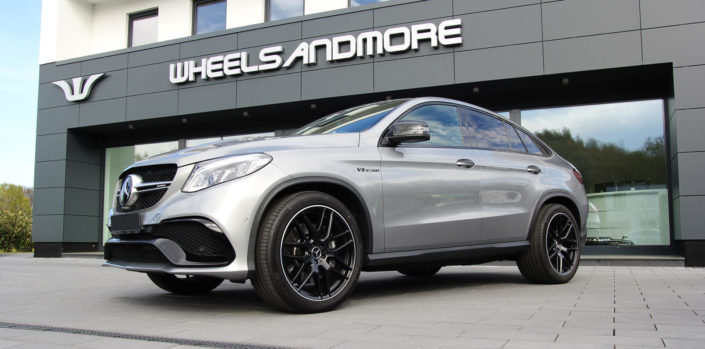 grey glossy mercedes gle63amg with ecu power upgrade at wheelsandmore