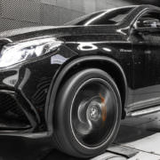 gle63amg on dyno test