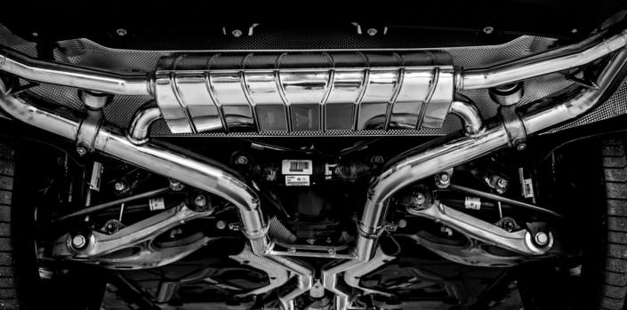 handcrafted exhaust mercedes gle 63amg