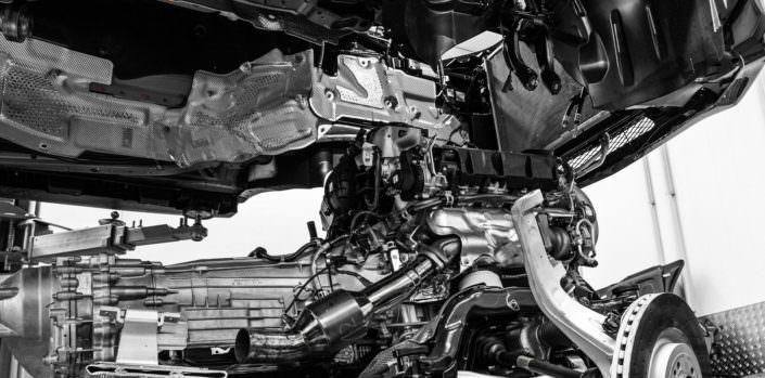 engine removed for bigbang power upgrade