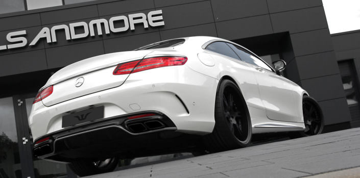s63 amg coupe with 10+11x22 inch 6sporz wheels