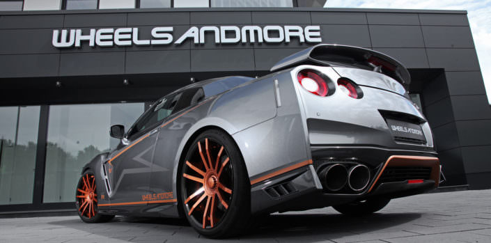 ultra concave tuning wheels fiwe nissan gtr
