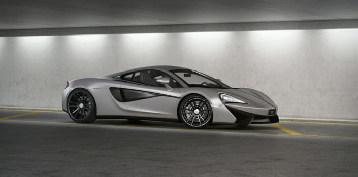 mclaren 540c with wheels and lowered suspesnion wheelsandmore