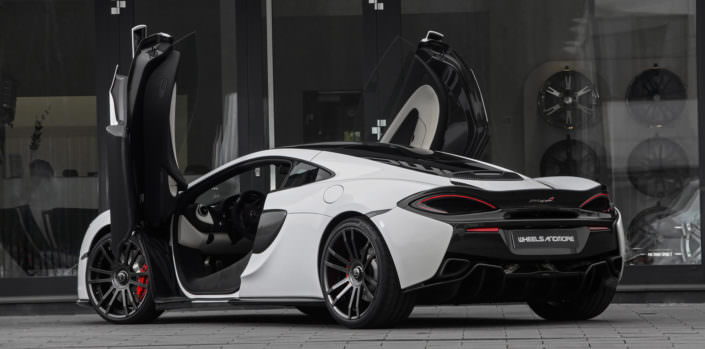mc laren 570gt hornesse wheelsandmore with exhaust, wheels and ecu upgrade up to 650hp