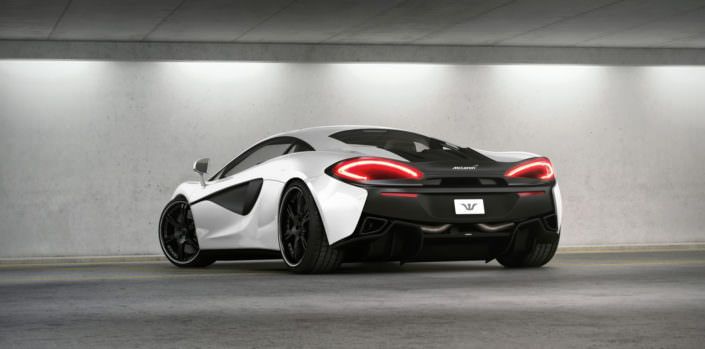 mclaren 540s conversion with 20 and 21 inch 6sporz wheels