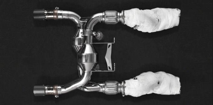 exhaust valve flaps mclaren