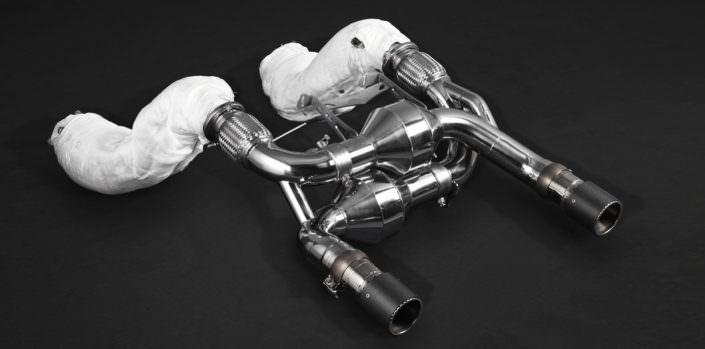 flap exhaust power mclaren 720s