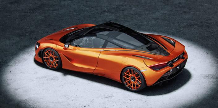orange mclaren 720s tuning