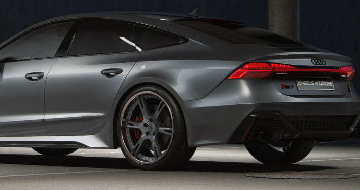 1045hp green Audi RS7 C8 from wheelsandmore