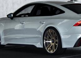 FIWE wheels on Audi RS7 C8 sideview left