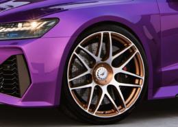 Audi RS7 C8 GLogic close up front left