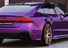Audi RS7 C8 G-Logic rim rear view