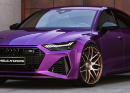 Audi RS7 C8 G-Logic rims Full View